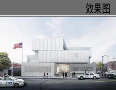 警察局建筑设计效果图