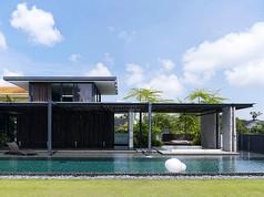 现代别墅景观