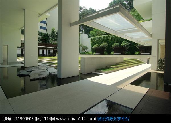 新加坡顶级公寓建筑景观