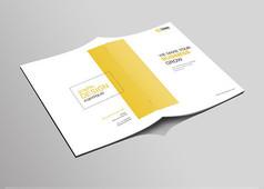 大气企业文化画册封面