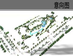 公园绿化素材