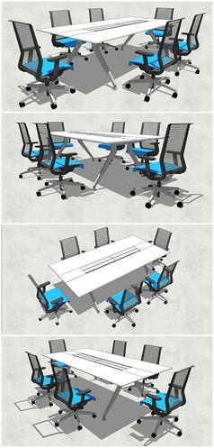小型会议桌模型