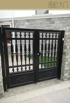 中式围栏大门