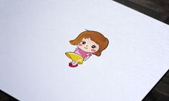 可爱清新卡通人物形象设计