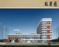 儿童医院建筑设计效果图