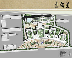 儿童医院建筑规划设计平面图