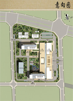 医院规划设计平面布局图