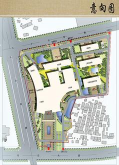 医院规划设计远期总图