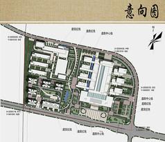 医院规划与建筑设计总平面