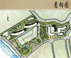 医院建筑布局平面图