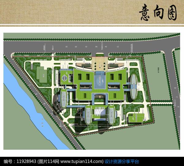 医院规划设计方案彩平