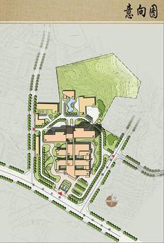 医院总体规划设计平面图