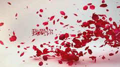 婚礼视频logo展示ae模板