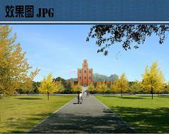 校园景观设计效果