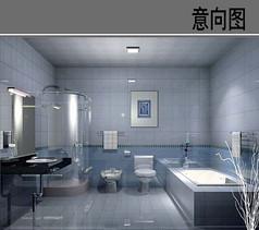瓷器现代感卫生间