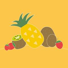 可爱手绘水果海报