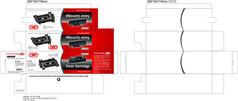 創意紅色電子產品包裝設計