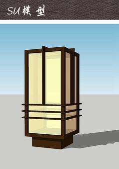 典雅中式草坪灯