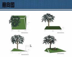 几何现代树池设计方案