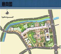 广场规划设计平面图