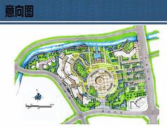 人民广场规划设计平面图