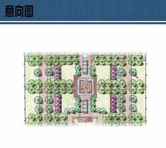 广场节点设计平面