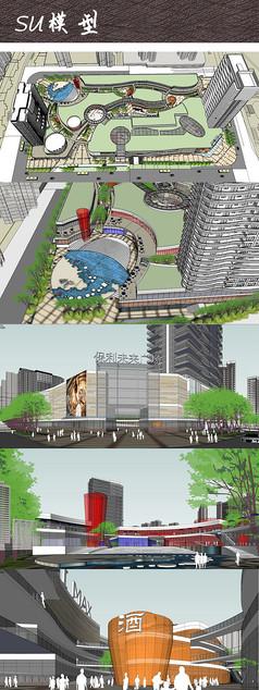 未来综合商业广场SU