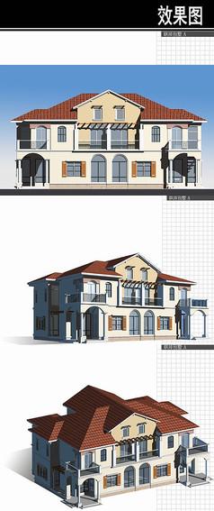 苏州某住宅规划联排别墅
