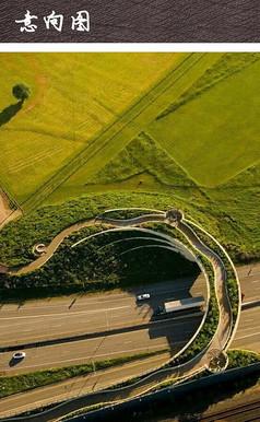 曲线景观步道公园