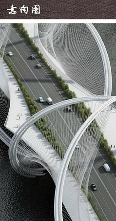 现代景观大桥