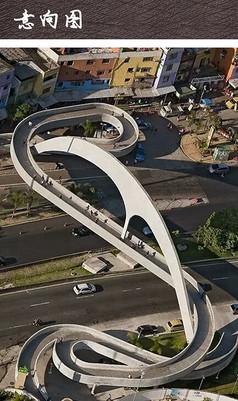 城市景观天桥