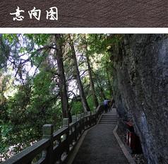 山体游览步道