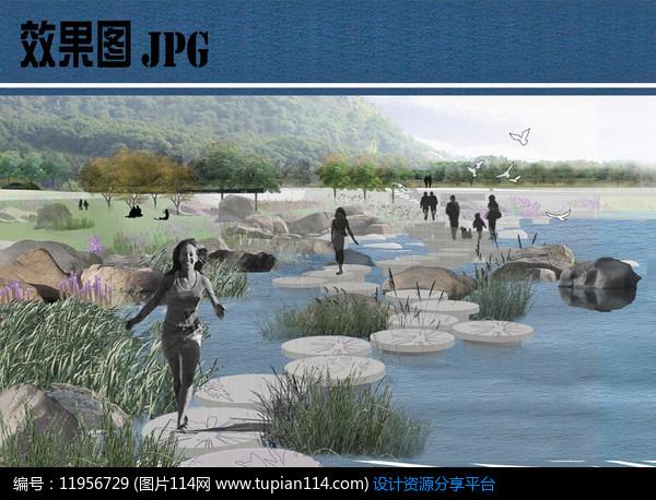 [原创] 湿地森林景观效果图