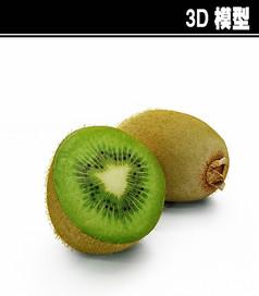 猕猴桃3D模型