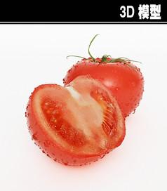 西红柿3D模型