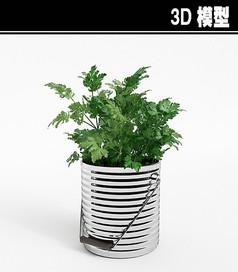 香菜盆3D模型
