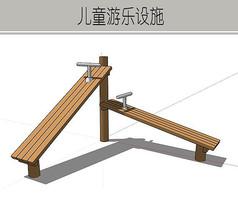 木质游乐设施