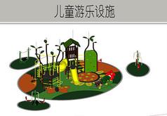 森林系列儿童游乐设施
