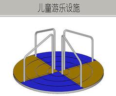 旋转圆形设施