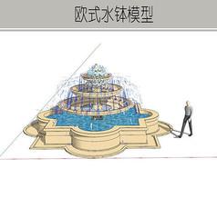 欧式叠泉水钵