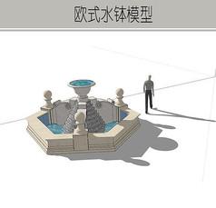 小型喷泉模型
