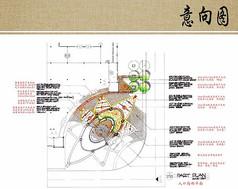 入口铺装局部平面图