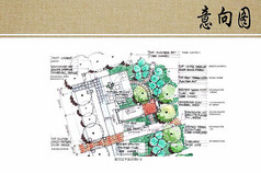 庭园景观铺装详图