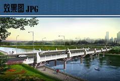 大桥设计效果图