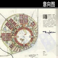 临港新城手绘图