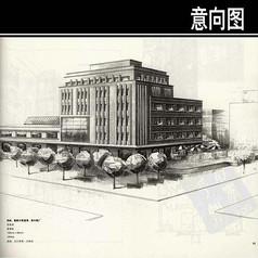 前水瓶厂手绘图