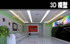 HTC手机店3D模型