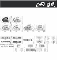 某实业办公室23F施工图