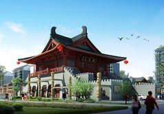 大岳楼3D模型