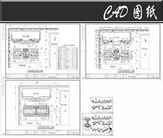 天鹏集团厂前绿化施工图